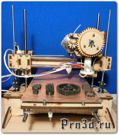 Чертежи 3D принтера PrintrBot