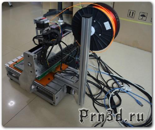 как сделать 3D принтер из чпу станка