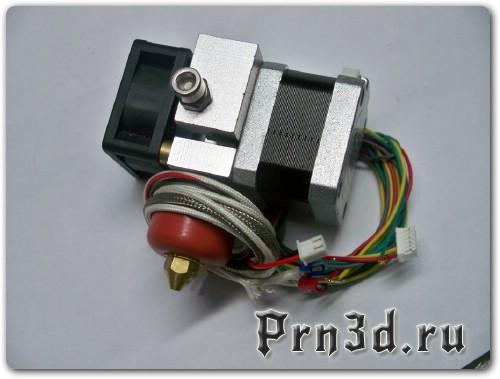 Простой экструдер для самодельного 3D принтера
