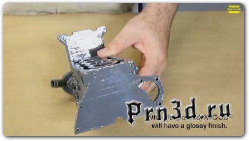 сглаживание 3D печати