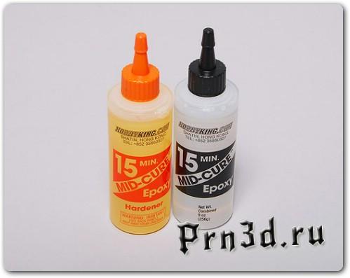 Эпоксидка для улучшения поверхности модели 3D принтера
