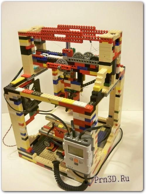 3D принтер из лего