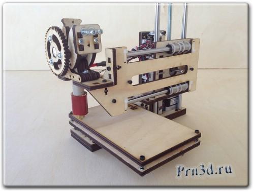 Обзор 3D принтера Printrbot