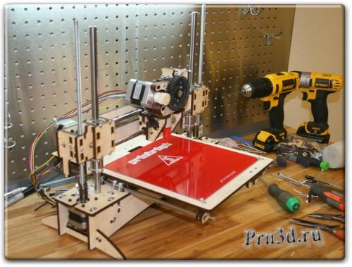 3D принтер Printrbot обзор и цены