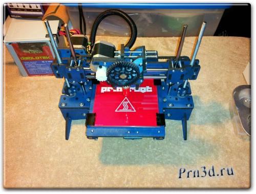 недорогой 3D принтер Printrbot