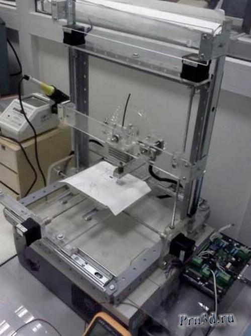 самодельный 3D принтер