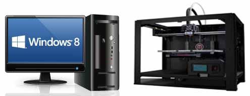 MakerBoot Replicator 2  в windows 8.1