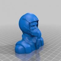 STL для 3D печати пилота авиамодели