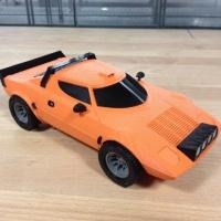 игрушечный автомобиль напечатан на 3д принтере