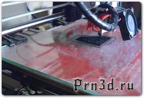 Чем смазать стол при печати ABS на 3D принтере