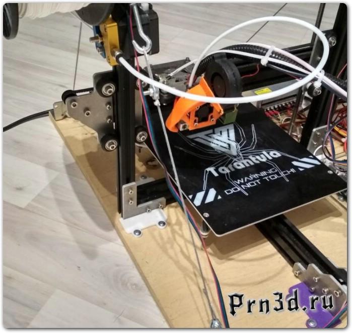 Улучшаем 3D принтер TEVO Tarantula: металлические детали взамен акриловых